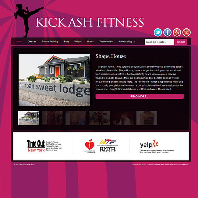sucessful-websites-kickashfitness