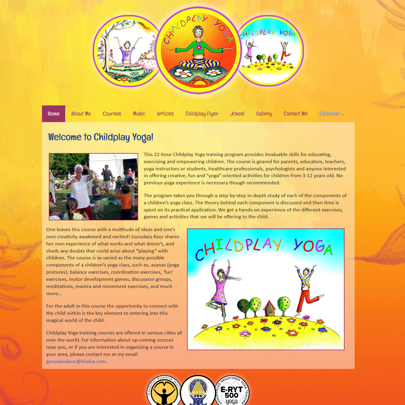 sucessful-websites-childplayyoga